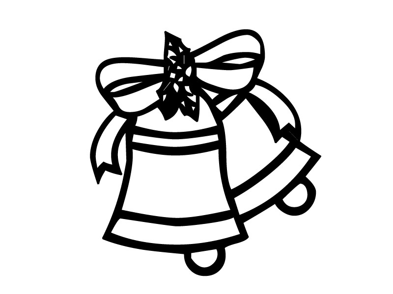 christmas bow coloring pages - photo #36