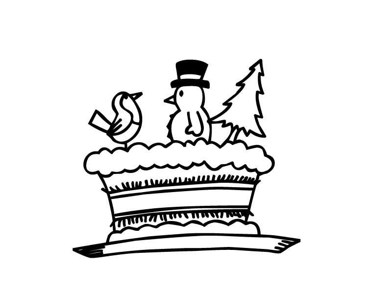 Miscellaneous Christmas Coloring Pages