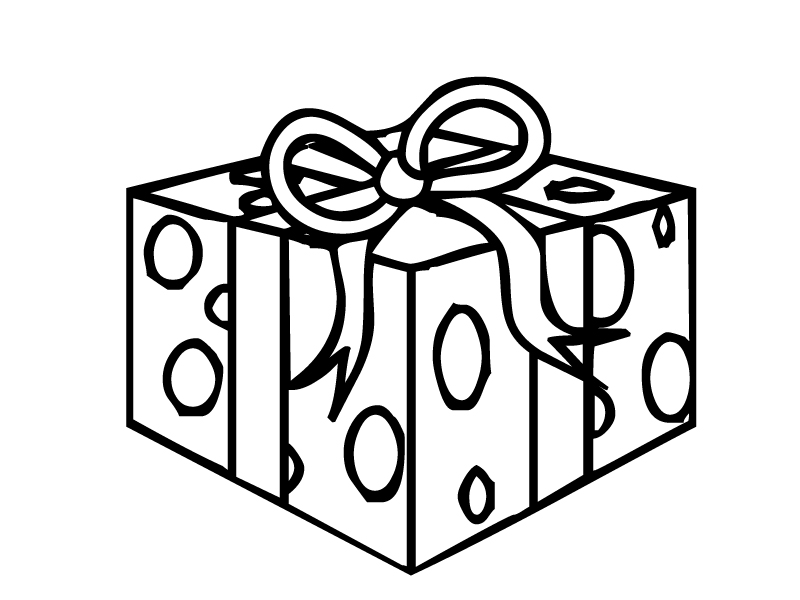 Present Coloring Pages Coloring Pages Gifts