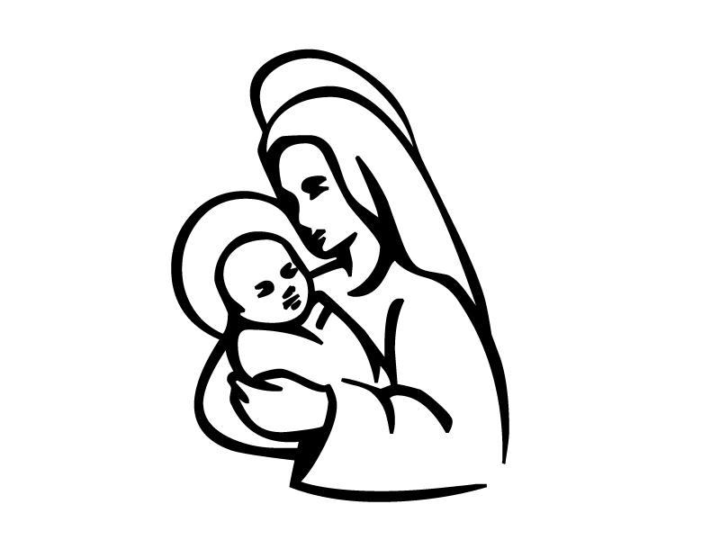 http://www.christmascoloring.net/images/religious/MaryJesus.jpg